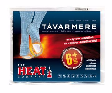 The Heat Company  Tåvarmer OneSize