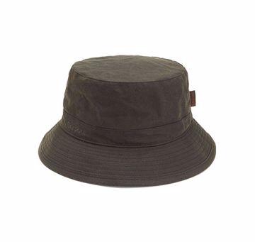 Barbour Wax Sports Hat Olive XXL