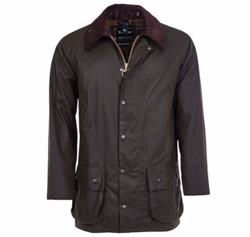 Barbour Mens Classic Beaufort Jacket Olive 44