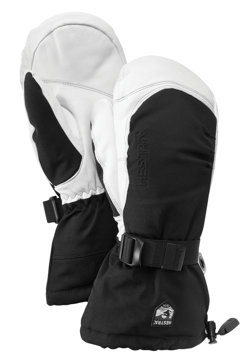 Hestra Army Leather Extrem Mitt Black 8