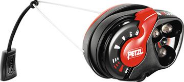 Petzl  E+LITE Hodelykt Black / Red