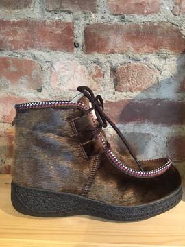 H:CE Shoes Polacchetto 1093 005 Brown 41