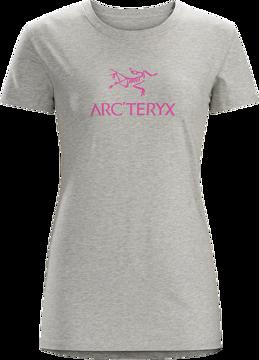 Arc'teryx Wms Arc'word SS T-Shirt Heathered Lt Grey