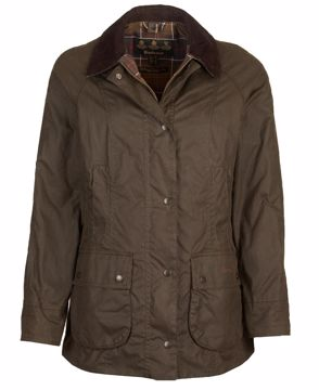 Barbour Wms Classic Beadnell Olive 16