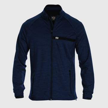 Rewoolution Mens Full Zip LS Peacock XL