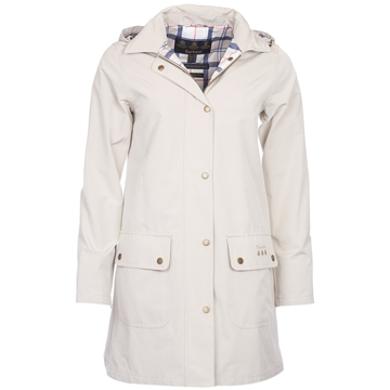 Barbour Gustnado W Jacket Col. Mist White