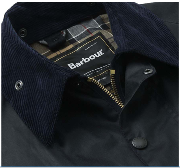 Barbour Wms Beaufort Jacket Col. Navy