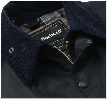 Barbour Wms Beaufort Jacket Navy 38