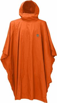 Fjällräven Poncho Safety Orange 1 Size