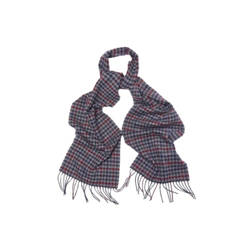 Barbour Houghton Scarf Col. Navy/ Merlot OneSize