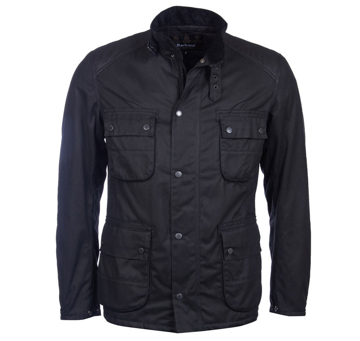 Barbour Mens B. Int. Weir Wax Jacket L
