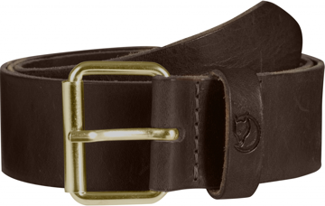 Fjällräven Singi Belt 4 cm. Col. Brown 85cm