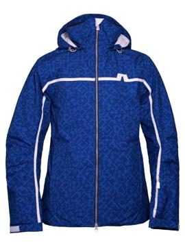 J. Lindeberg Mens Sitkin Jacket Col. Blue Square XL