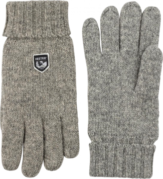 Hestra Basic Wool Glove Grey 9