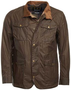 Barbour Mens Lightweight Ogston Jacket Col. Brown XXL