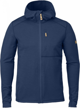 Fjällräven Mens Keb Fleece Hoodie Blueberry