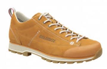 Dolomite Mens Cinquantaquattro Low Curry Yellow/Canapa Beige 44.5