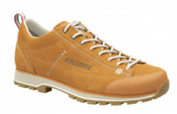 Dolomite Mens Cinquantaquattro Low Curry Yellow/Canapa Beige 45