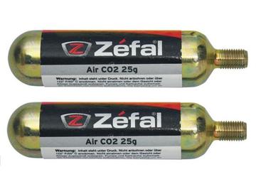 Zefal Co2 Patroner 2x25gr  OneSize