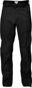 Fjällräven Mens Eco-Shell Trousers Col. Black