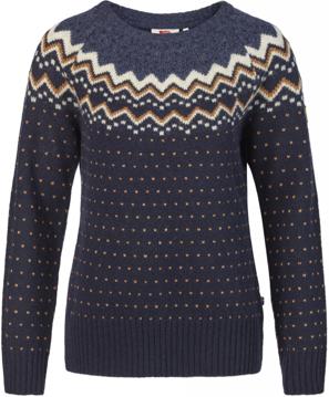 Fjällräven Wms Övik Knit Sweater Col. Dark Navy S