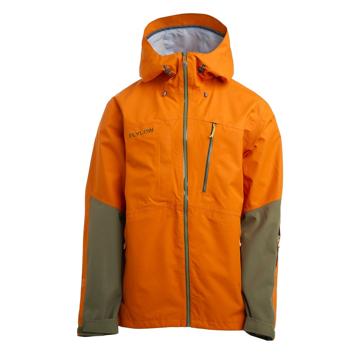 Flylow Mens Quantum Jacket Col. Aperol/Seaweed S