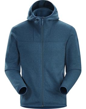 Arc'Teryx Mens Covert Hoody Hecate Blue L