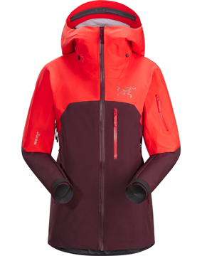 Arc'teryx Wms Shashka Jacket Crimson Aura M