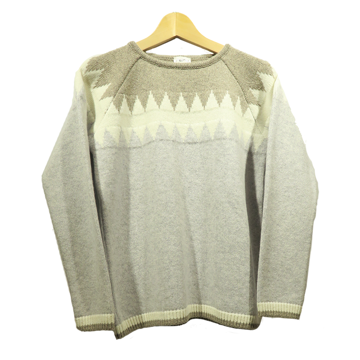 Steffner Wms Funny Sweater Col. Light Grey 38