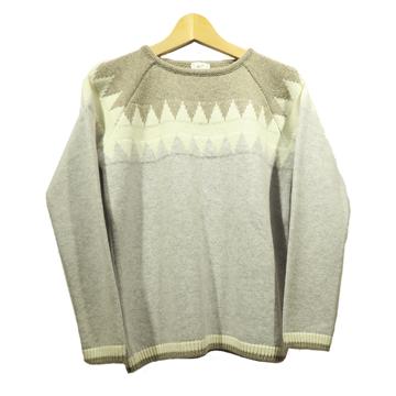 Steffner Wms Funny Sweater Col. Light Grey 42