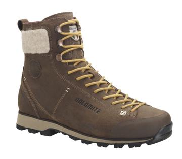 Dolomite Mens Cinquantaquattro Warm WP Brown 40 2/3