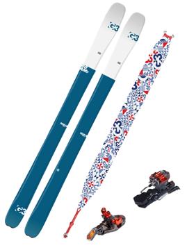 G3 Roamr 108 Toppturpakke inkl. ION 10 binding og G3 Alpinist felle