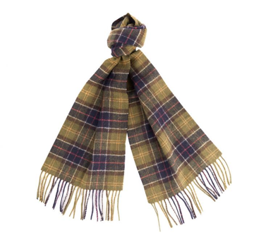 Barbour Tartan Lambswool Scarf Classic OneSize