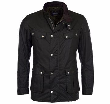 Barbour Mens Int. Lightweight Duke Wax Jacket Sage XL