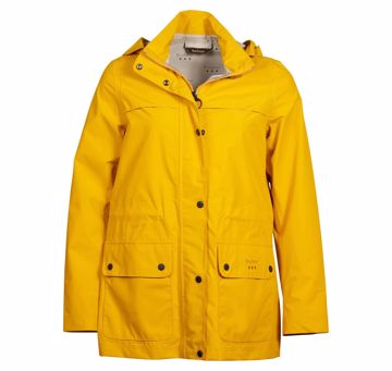 Barbour Drizzel Jacket Col. Canary Yellow 16