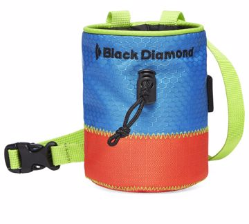 Black Diamond Mojo Kids Chalk Bag Col. Macaw