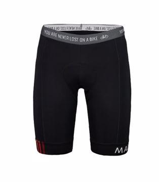 Maloja Mens VielM Chamois Bike Shorts Moonless S