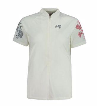 Maloja Wms VulperaM All Mountain 1/2 SS Shirt Vintage White L
