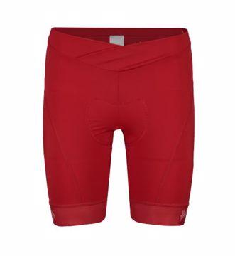 Maloja Wms MinorM 1/2 Chamois Bike Shorts Red Poppy M