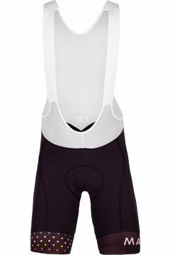 Maloja Mens ChampsM 1/2 Bib Shorts Moonless M