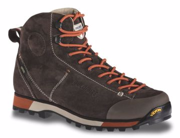 Dolomite Mens Cinquantaquattro Hike Gtx Dark Brown/Red 47