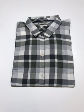 Barbour Wms Levis Shirt Green/Gray Check  14