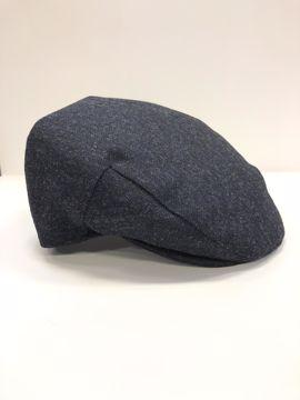 Barbour Moons Tweed Cap Navy 7