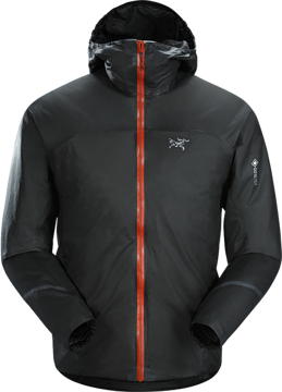 ArcTeryx Mens Norvan SL Insulated Hoody Black Infrared L