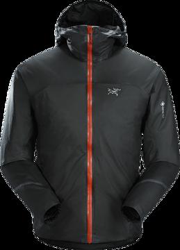 ArcTeryx Mens Norvan SL Insulated Hoody Black Infrared
