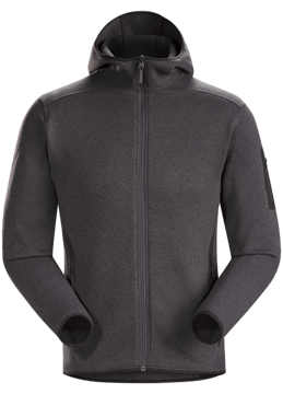 ArcTeryx Mens Covert Hoody Whiskey Jack Heather M