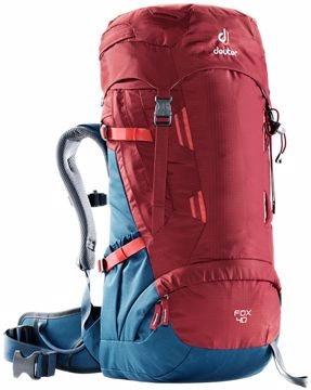 Deuter Jr. Fox 40 Cranberry-Steel