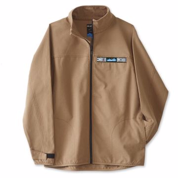 Full Zip Throwshirt Heritage Khaki M