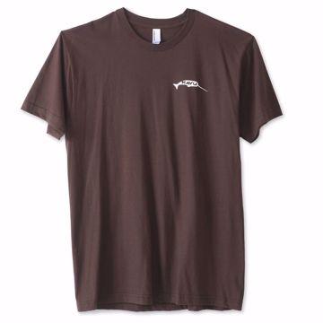 Kavu Big Fisch T-shirt Brown L