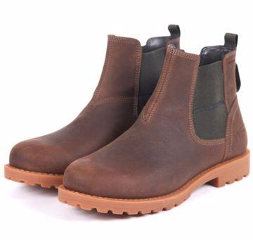 Barbour Mens Harter Chelsea Boot Brown 44/45